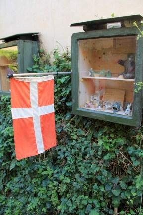 Boutique improvisée danoise