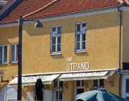 Café strand à Dragør