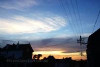 Coucher de soleil à Chimay