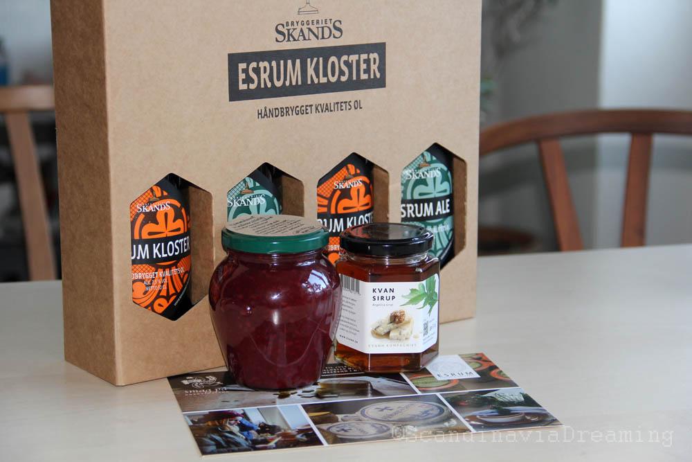 Sélection de produits de l'abbaye d'Esrum