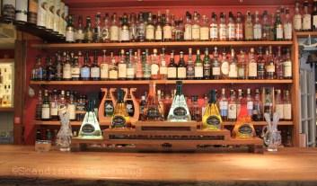 Bar de la distillerie Spirit of Hven
