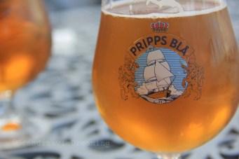 Bière suédoise pripps blaa