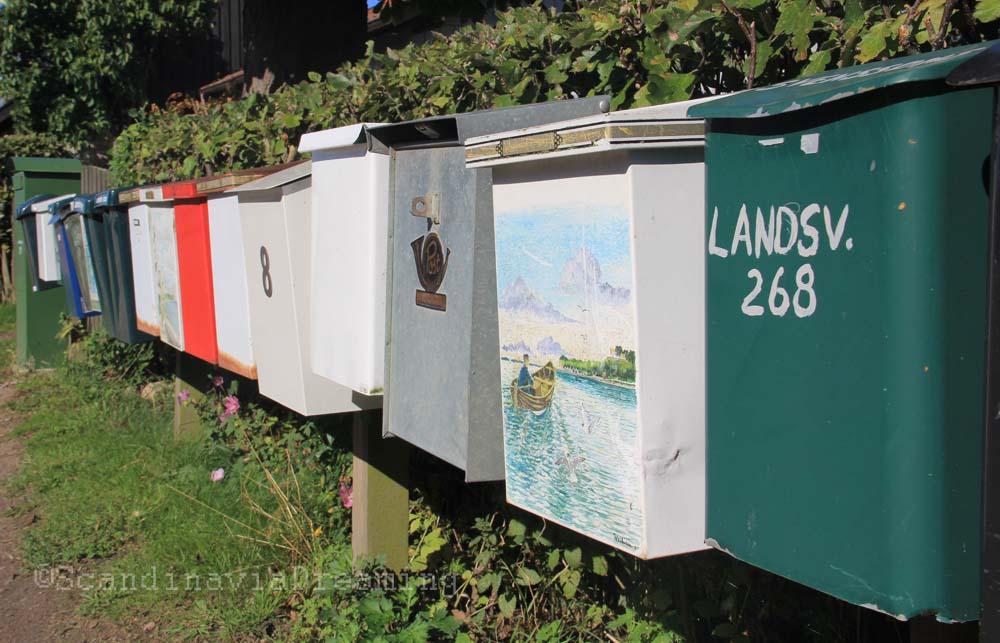 Boîtes à lettres de Ven