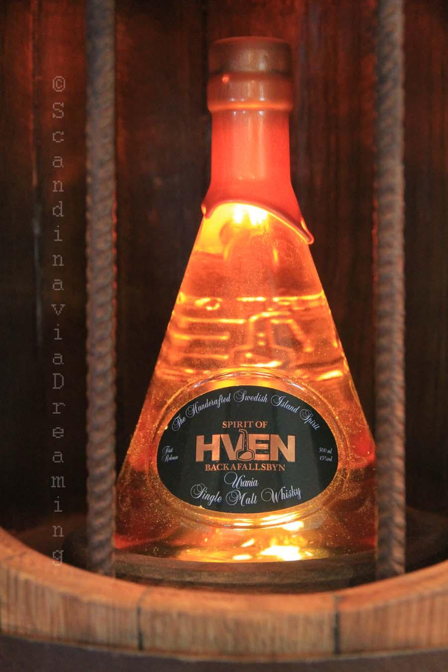 Bouteille d'eau-de-vie de Hven