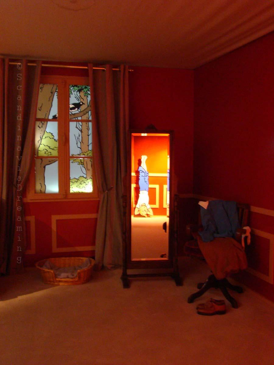 La chambre de Tintin