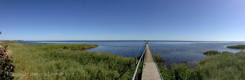 Panoramique de l'Oeresund
