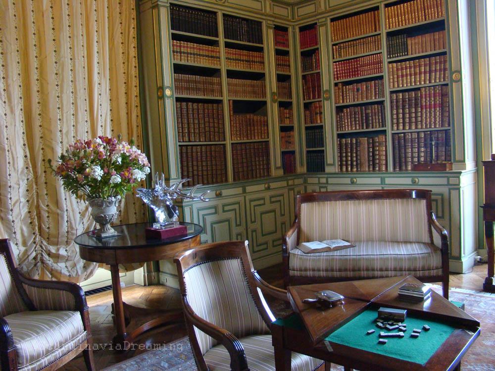 Salle de jeux du château de Cheverny