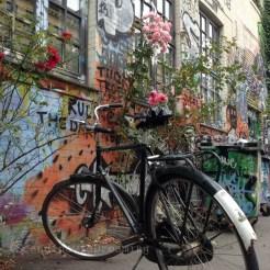 Vélo et graffitti