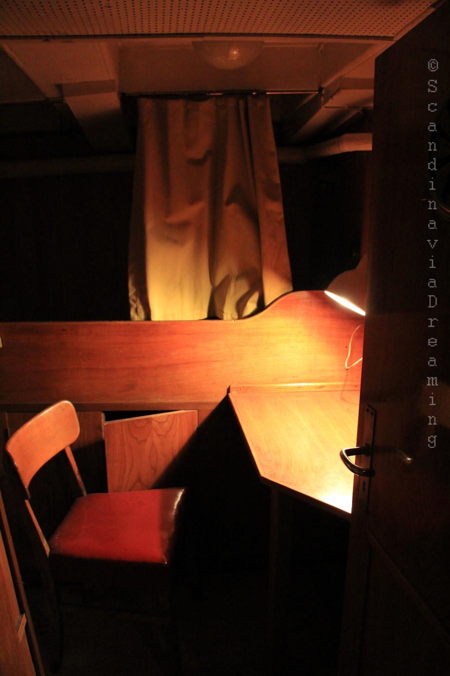 Cabine du bateau-phare