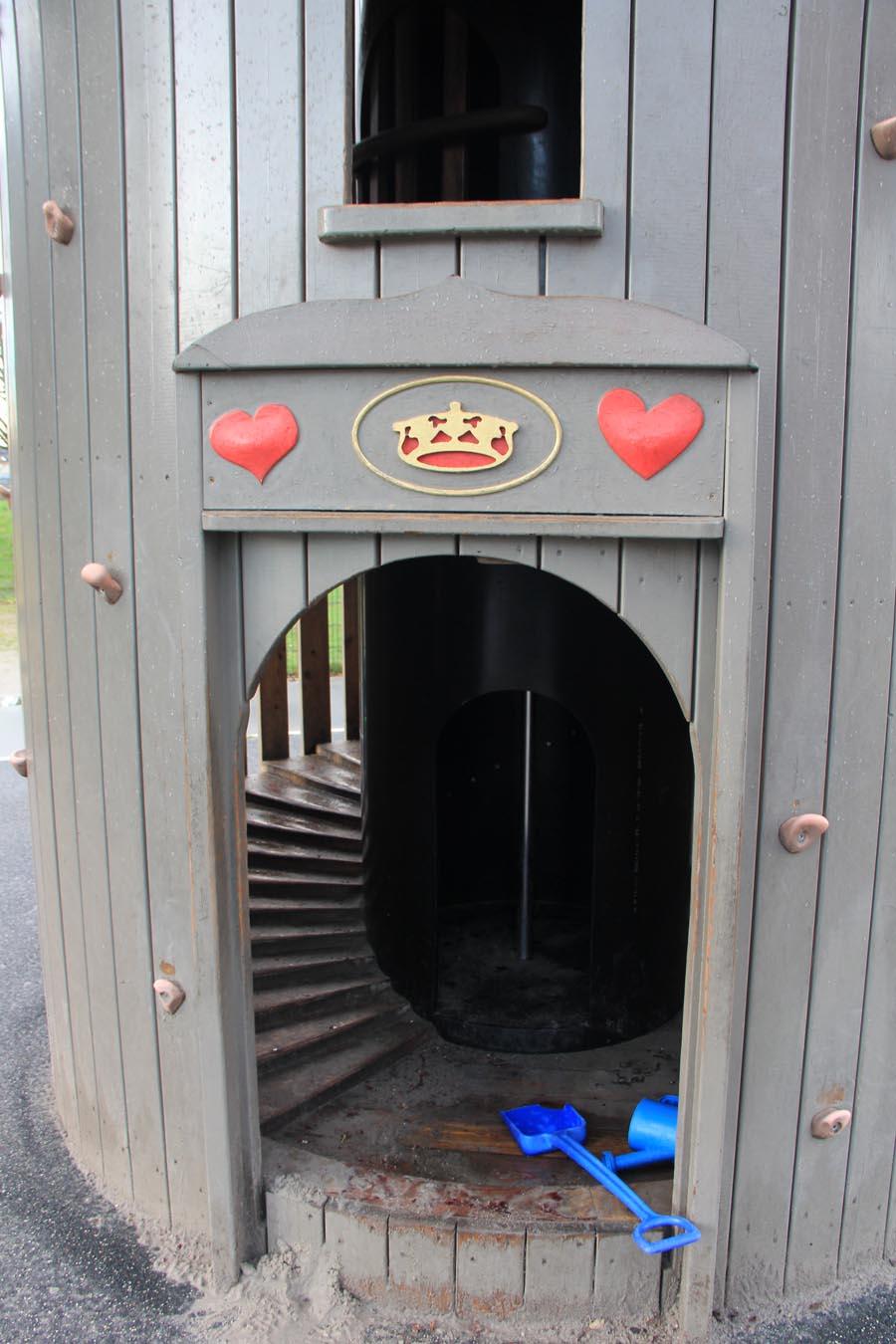 La tour ronde miniature