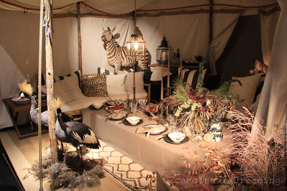 Table africaine