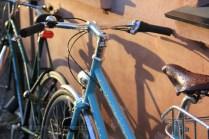 Vélo après la pluie