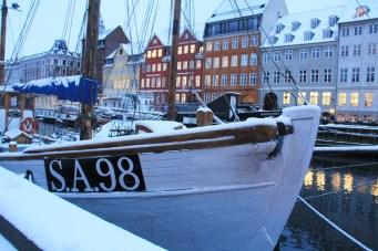 Nyhavn sous la neige