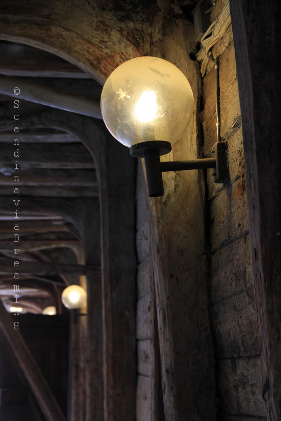 Bergen lampadaires