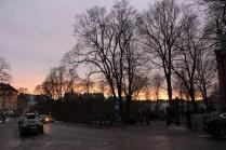 Coucher de soleil Oslo