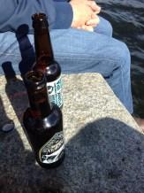 Bière au soleil