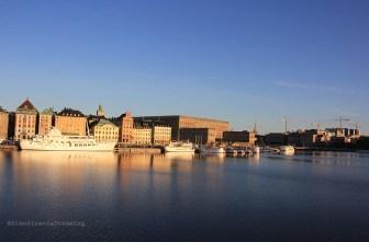 Stockholm au petit matin