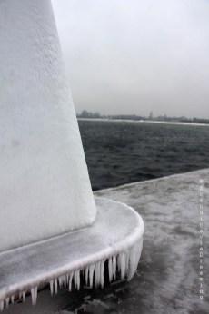 Balise gelée
