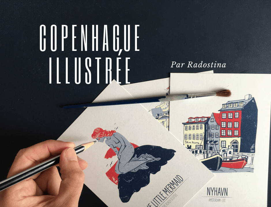 Copenhague illustrée par Radostina
