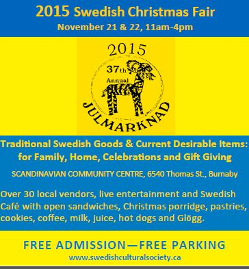 Swedish Craft Fair 2015