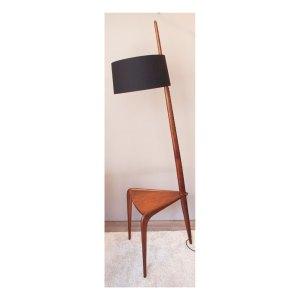 Ensemble 6 chaises boomerang, A. Christensen, Slagelse, années 50