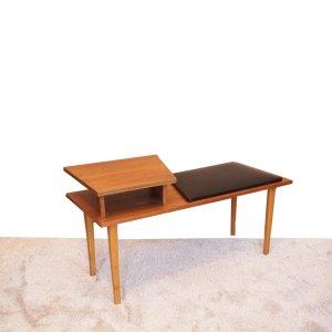 Petit banc vintage – meuble téléphone