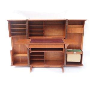 Bureau «box» home office, vintage scandinave