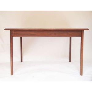 Petite table de salle à manger vintage scandinave (une allonge papillon)