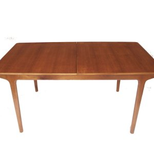 Table de salle à manger scandinave McIntosh (double allonge papillon)
