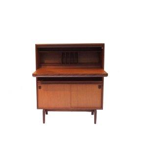 Secretaire, bureau vintage scandinave