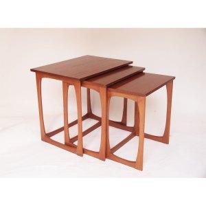 Tables gigognes scandinave vintage années 50
