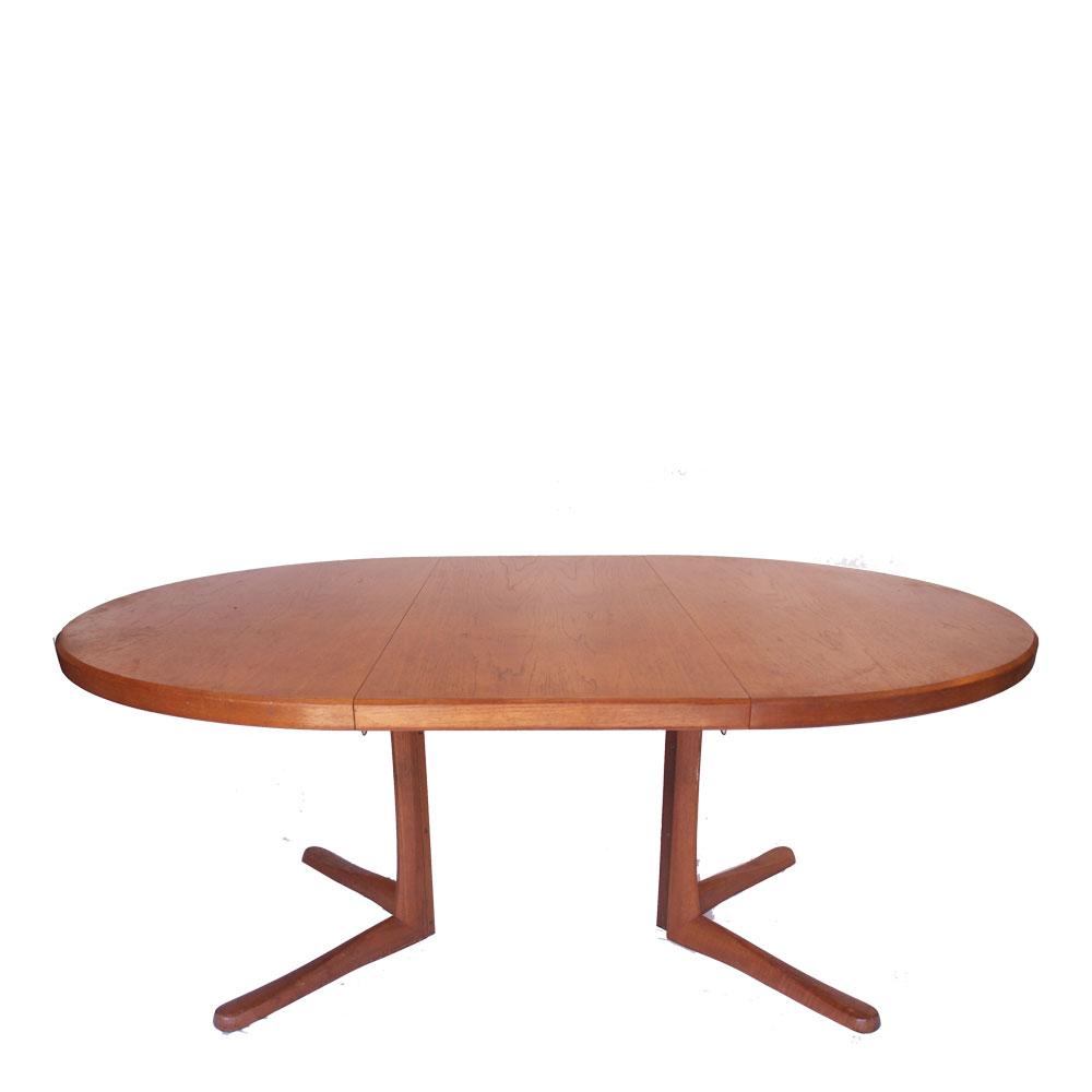 table ronde scandinave danoise