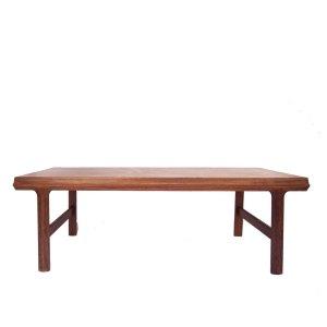 Grande table basse scandinave danoise vintage Palissandre de Rio