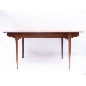 Table salle à manger vintage scandinave, une rallonge papillon #418
