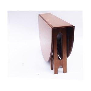Table console pliante scandinave vintage, 2 disponibles #314