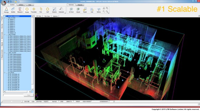 Trusted Living Pointcloud - Scalable, die Skalierbarkeit