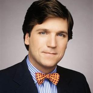 Tucker Carlson hair, family, salary, mother, bow tie
