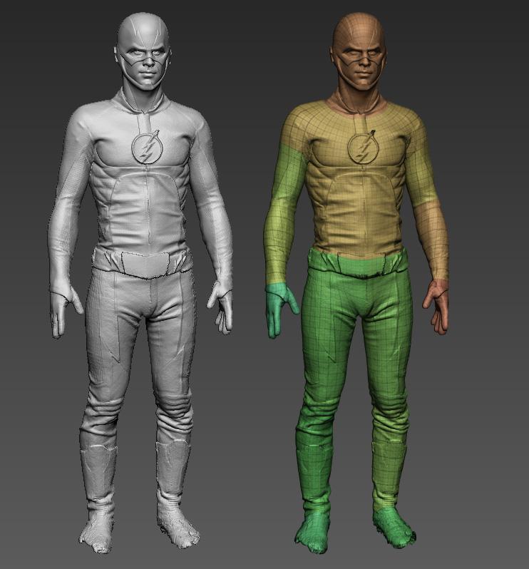 3d full body scans