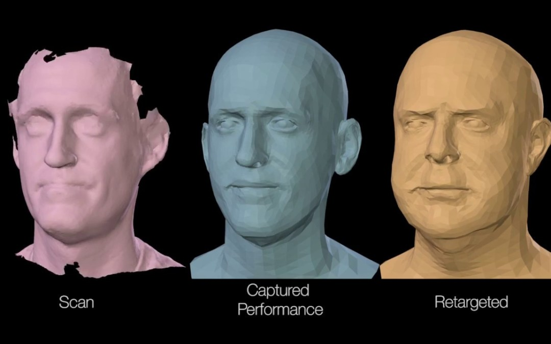 FLAME: Learned face model from 4D scans