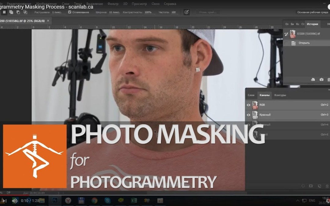 Background Masking in Adobe Photoshop