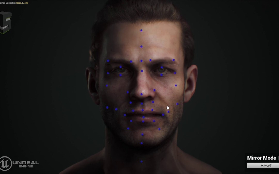 Snappers Advanced Facial Rig for Maya and Unreal Engine