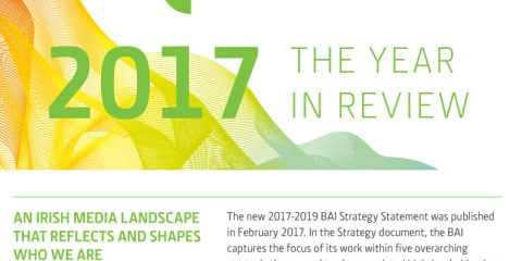 Broadcasting Authority of Ireland's review of 2017