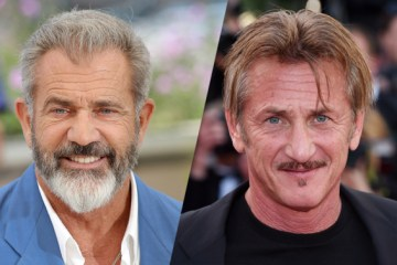 Mel Gibson and Sean Penn - The Professor and the Madman