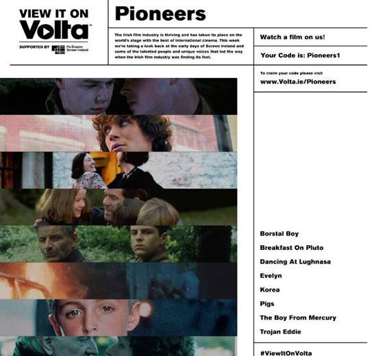 View It On Volta - Pioneers