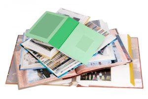 Fotoalbums en pagina's uit albums digitaliseren