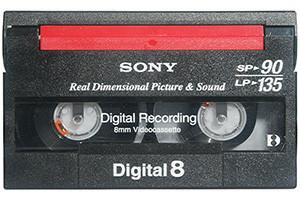 digital 8 digitaliseren