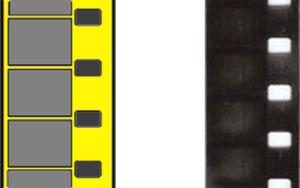 8mm smalfilm en dubbel 8 smalfilm voorbeeld