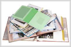 Fotoboek verpakken