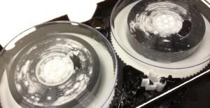 Beschimmelde videobanden herstellen
