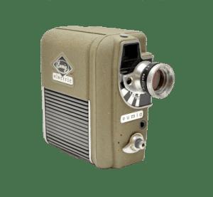 Dubbel 8 camera